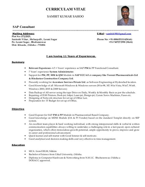 Sap resume preperation youtube - Held-million.cf